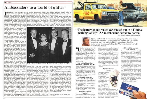 Article Preview: Ambassadors to a world of glitter, November 1985 | Maclean's