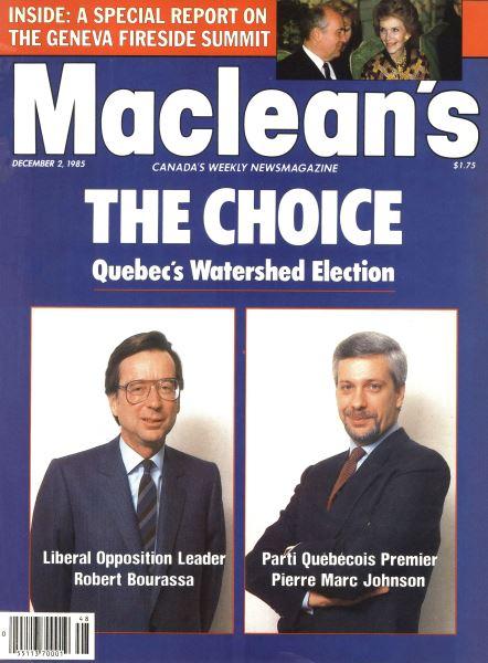 Issue: - December 1985 | Maclean's