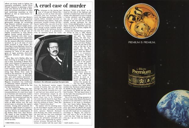 Article Preview: A cruel case of murder, December 1985 | Maclean's