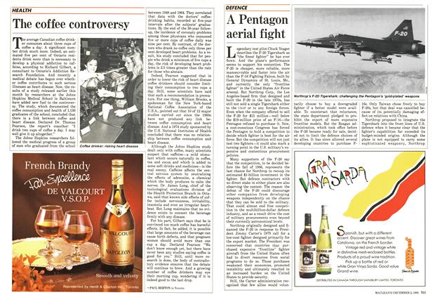 Article Preview: The coffee controversy, December 1985 | Maclean's