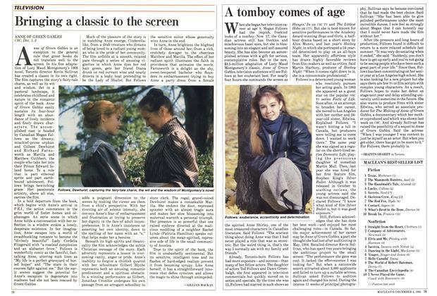 Article Preview: MACLEAN'S BEST SELLER LIST, December 1985 | Maclean's