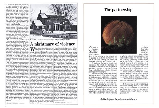 Article Preview: A nightmare of violence, December 1985 | Maclean's