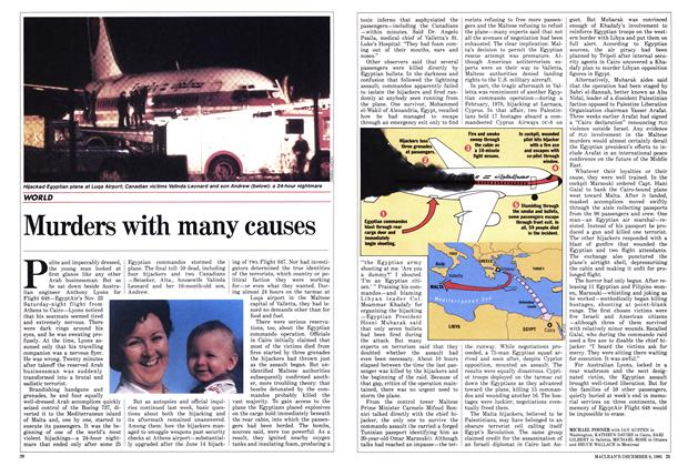 Article Preview: Murders with many causes, December 1985 | Maclean's