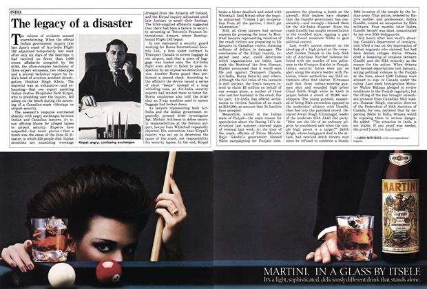 Article Preview: The legacy of a disaster, December 1985   Maclean's