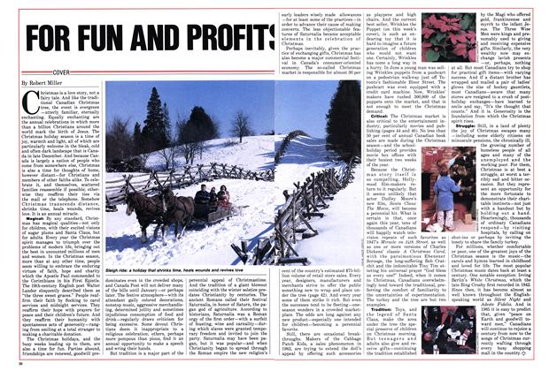 Article Preview: FOR FUN AND PROFITS, December 1985 | Maclean's