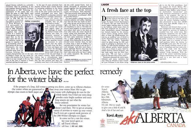Article Preview: A fresh face at the top, December 1985 | Maclean's