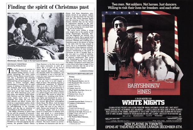 Article Preview: Finding the spirit of Christmas past, December 1985 | Maclean's