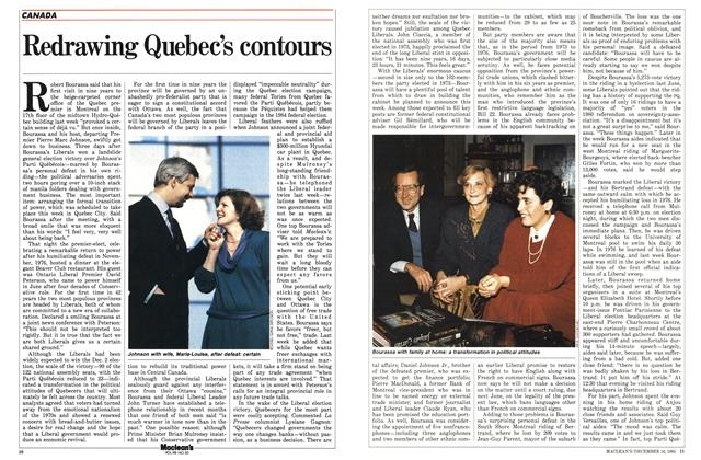 Article Preview: Redrawing Quebec's contours, December 1985 | Maclean's