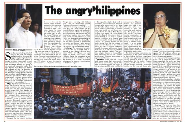 Article Preview: The angry Philippines, December 1985 | Maclean's