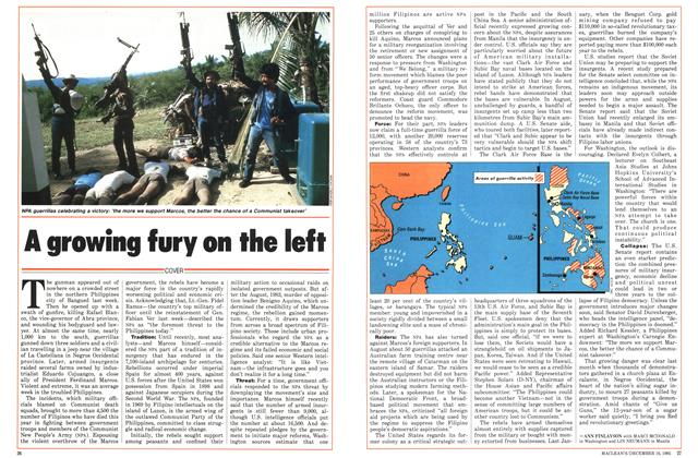 Article Preview: A growing fury on the left, December 1985 | Maclean's
