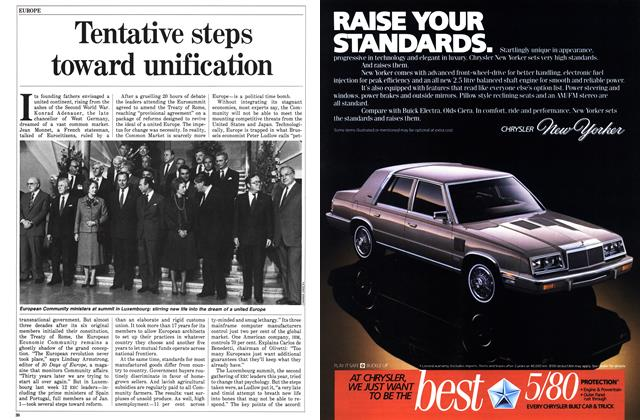 Article Preview: Tentative steps toward unification, December 1985 | Maclean's