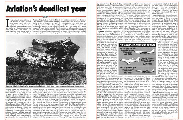Article Preview: Aviation's deadliest year, December 1985 | Maclean's