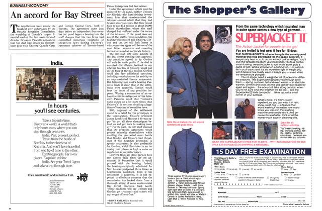 Article Preview: An accord for Bay Street, December 1985 | Maclean's