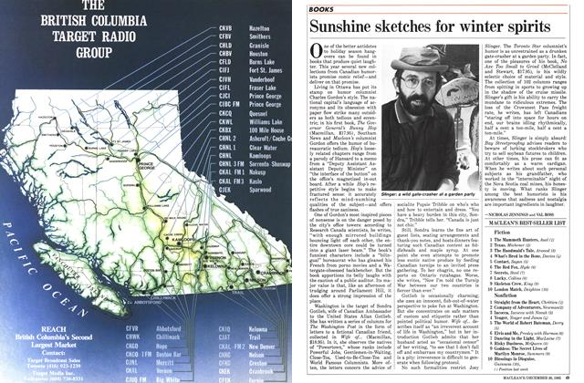 Article Preview: Sunshine sketches for winter spirits, December 1985 | Maclean's