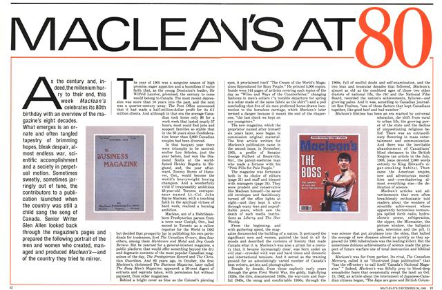 Article Preview: MACLEAN'S AT 80, December 1985 | Maclean's