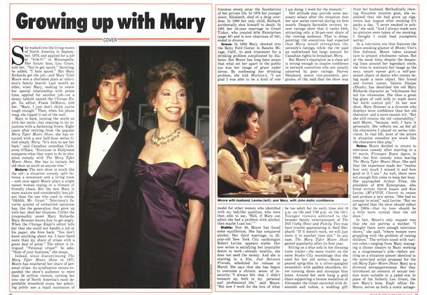 Article Preview: Growing up with Mary, January 1986 | Maclean's