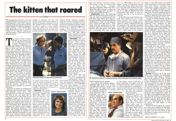 Article Preview: The kitten that roared, January 1986 | Maclean's