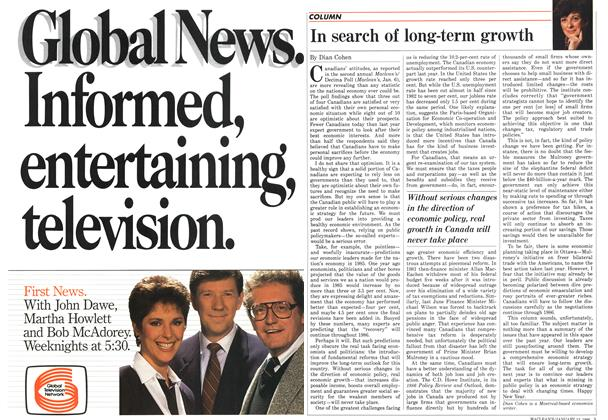 Article Preview: In search of long-term growth, January 1986   Maclean's