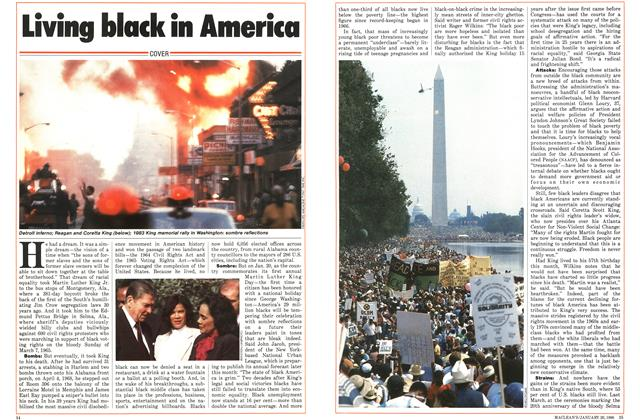 Article Preview: Living black in America, January 1986 | Maclean's