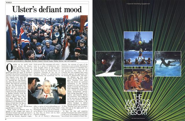 Article Preview: Ulster's defiant mood, January 1986 | Maclean's