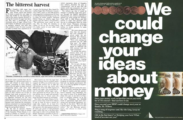 Article Preview: The bitterest harvest, January 1986 | Maclean's
