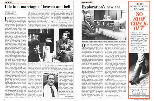 Article Preview: Life in a marriage of heaven and hell, January 1986 | Maclean's
