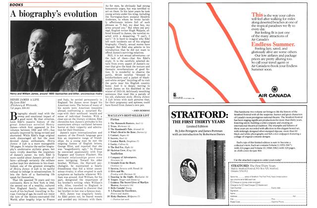 Article Preview: A biography's evolution, January 1986 | Maclean's