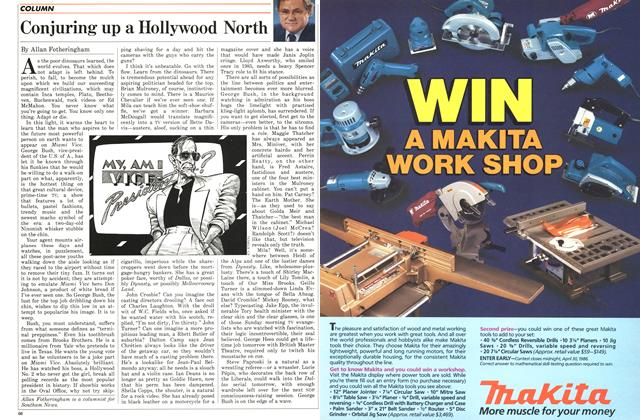 Article Preview: Conjuring up a Hollywood North, January 1986 | Maclean's