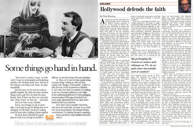 Article Preview: Hollywood defends the faith, January 1986 | Maclean's