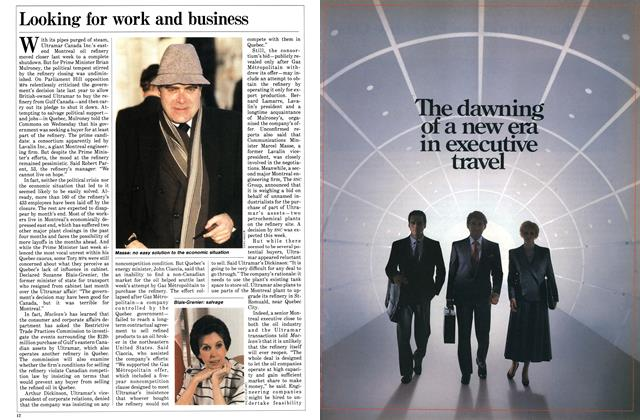Article Preview: Looking for work and business, January 1986 | Maclean's