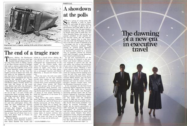 Article Preview: The end of a tragic race, February 1986 | Maclean's