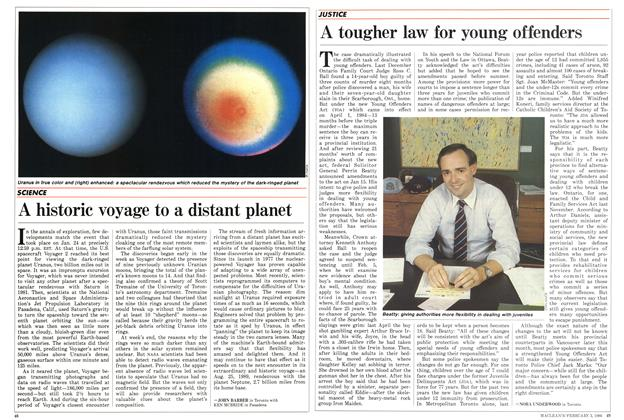 Article Preview: A historic voyage to a distant planet, February 1986 | Maclean's