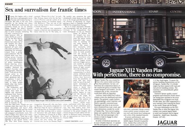 Article Preview: Sex and surrealism for frantic times, February 1986 | Maclean's