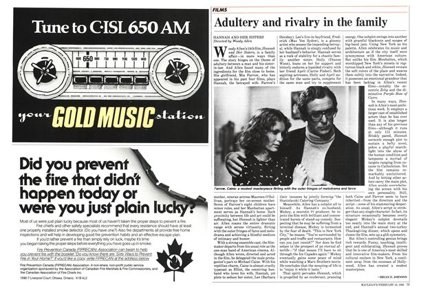 Article Preview: Adultery and rivalry in the family, February 1986 | Maclean's