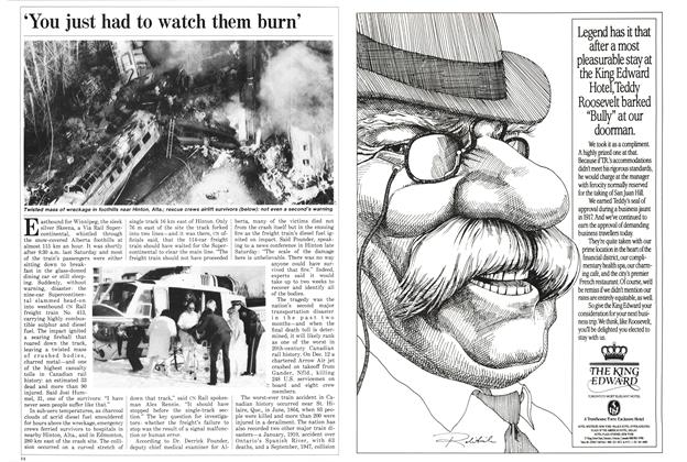 Article Preview: 'You just had to watch them burn', February 1986 | Maclean's
