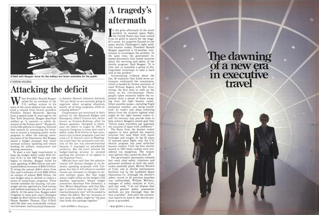 Article Preview: Attacking the deficit, February 1986 | Maclean's