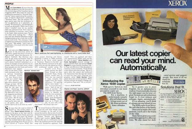 Article Preview: PEOPLE, February 1986 | Maclean's