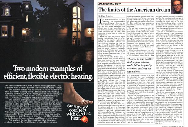Article Preview: The limits of the American dream, February 1986 | Maclean's