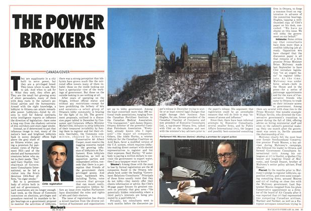 Article Preview: THE POWER BROKERS, February 1986 | Maclean's