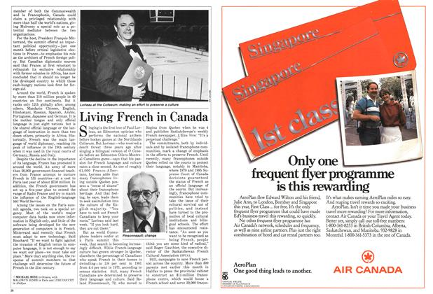 Article Preview: Living French in Canada, February 1986 | Maclean's