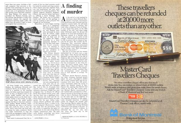 Article Preview: A finding of murder, February 1986   Maclean's