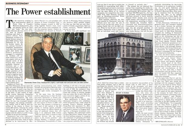 Article Preview: The Power establishment, February 1986 | Maclean's