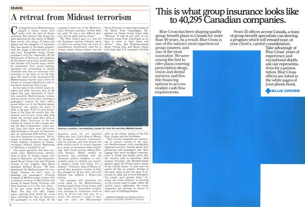 Article Preview: A retreat from Mideast terrorism, February 1986 | Maclean's