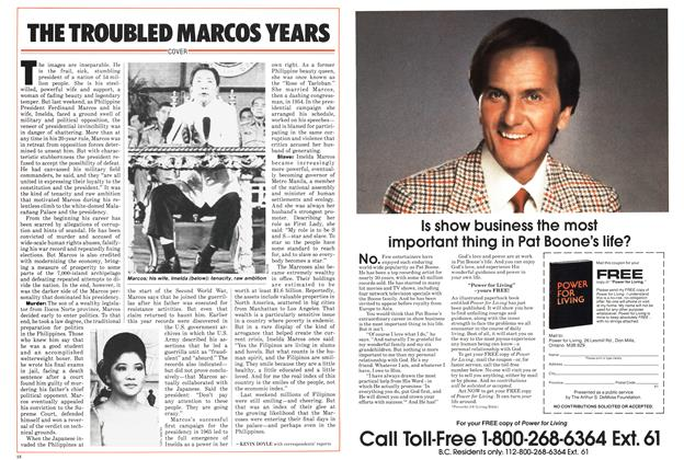 Article Preview: THE TROUBLED MARCOS YEARS, March 1986 | Maclean's