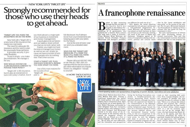 Article Preview: A francophone renaissance, March 1986 | Maclean's