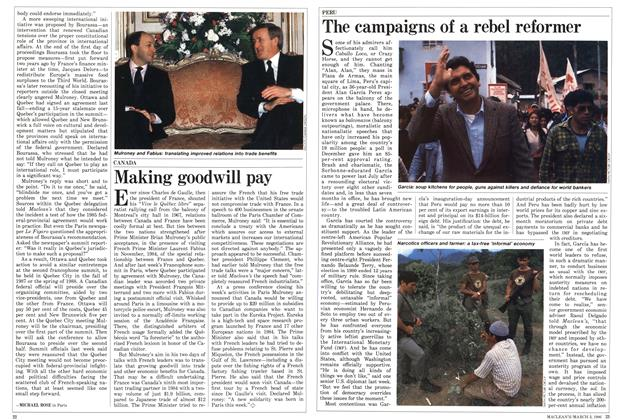 Article Preview: The campaigns of a rebel reformer, March 1986 | Maclean's