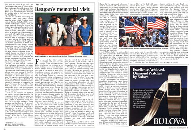 Article Preview: Reagan's memorial visit, March 1986 | Maclean's