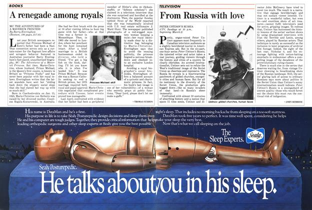 Article Preview: From Russia with love, March 1986 | Maclean's