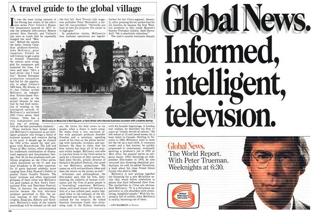 Article Preview: A travel guide to the global village, March 1986 | Maclean's