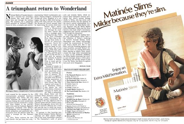 Article Preview: A triumphant return to Wonderland, March 1986 | Maclean's